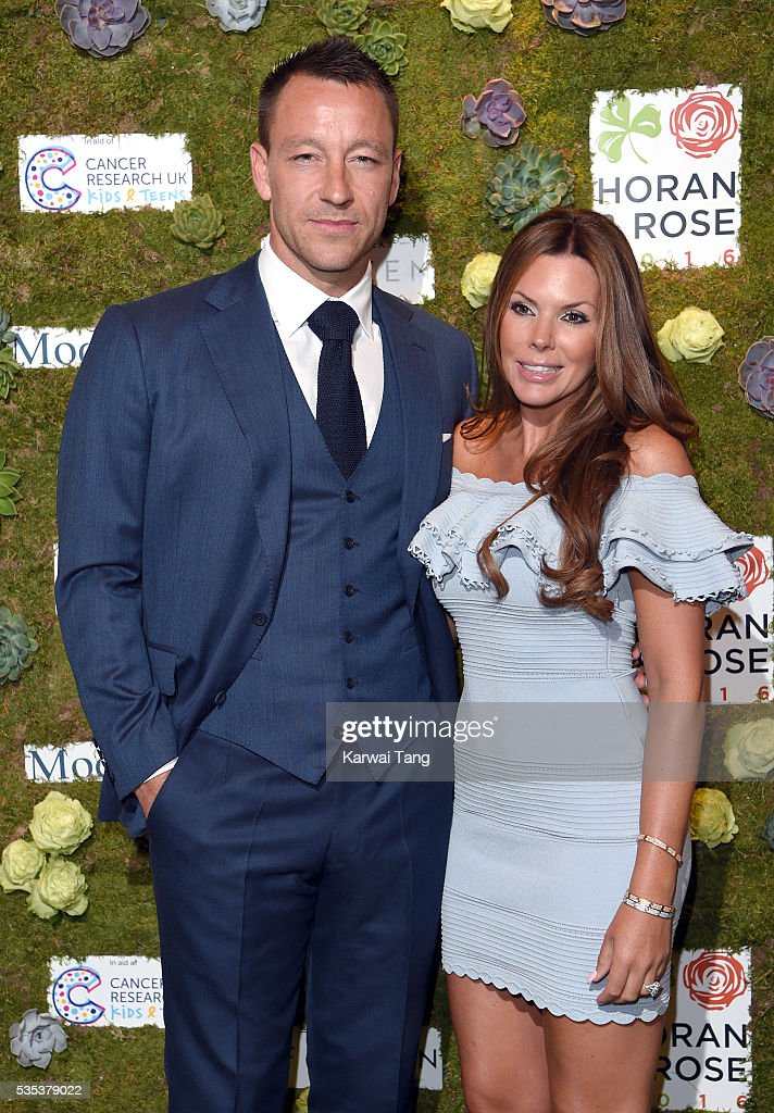 <a gi-track='captionPersonalityLinkClicked' href=/galleries/search?phrase=John+Terry&family=editorial&specificpeople=171535 ng-click='$event.stopPropagation()'>John Terry</a> and wife Toni arrive for The Horan And Rose event at The Grove on May 29, 2016 in Watford, England.