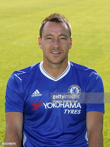 John Terry of Chelsea poses for the headshot at Chelsea Training Ground on September 13 2016 in Cobham England