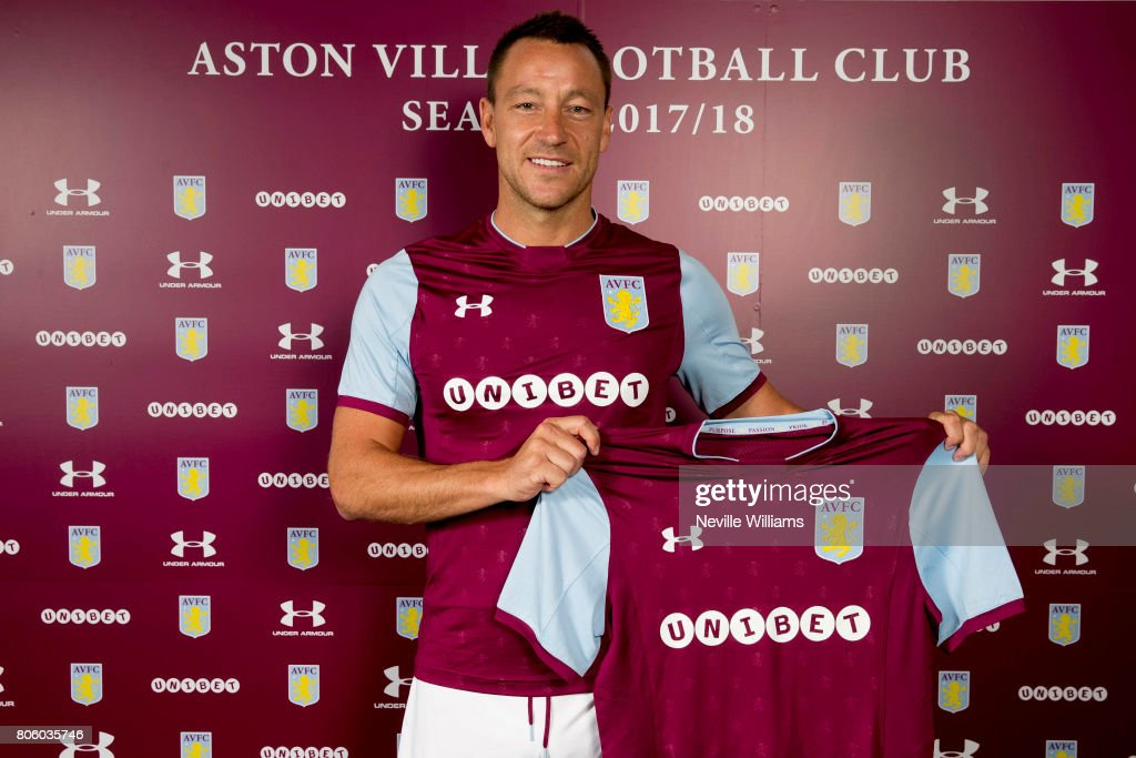 Aston Villa Announce New Signing John Terry