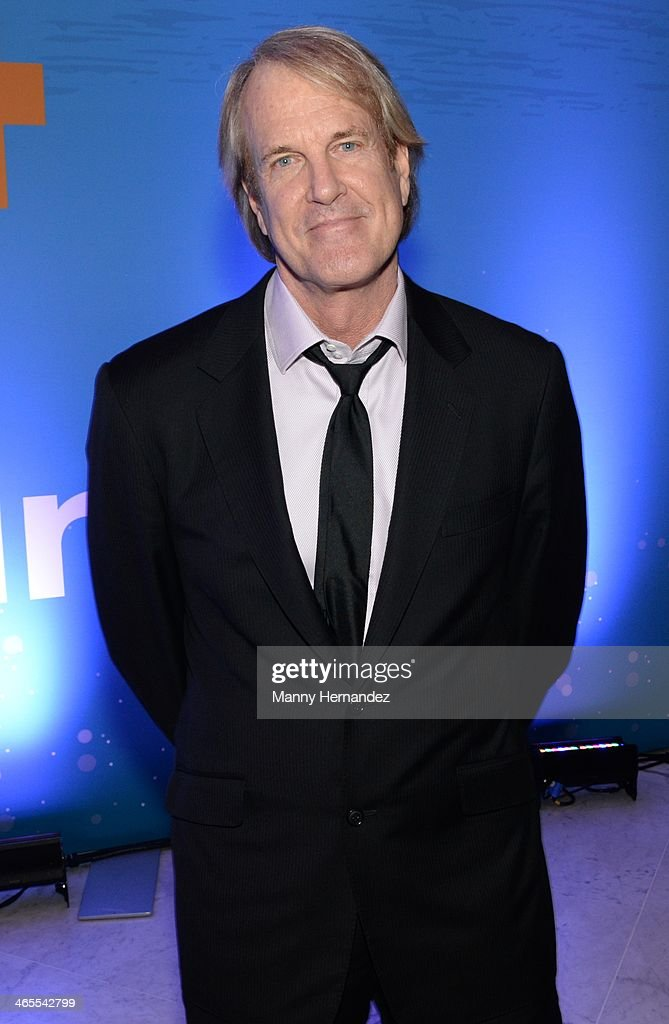 John Tesh is sighted at NATPE 2014 in Miami Beach at Fontainebleau Miami Beach on January 27, 2014 in Miami Beach, Florida.