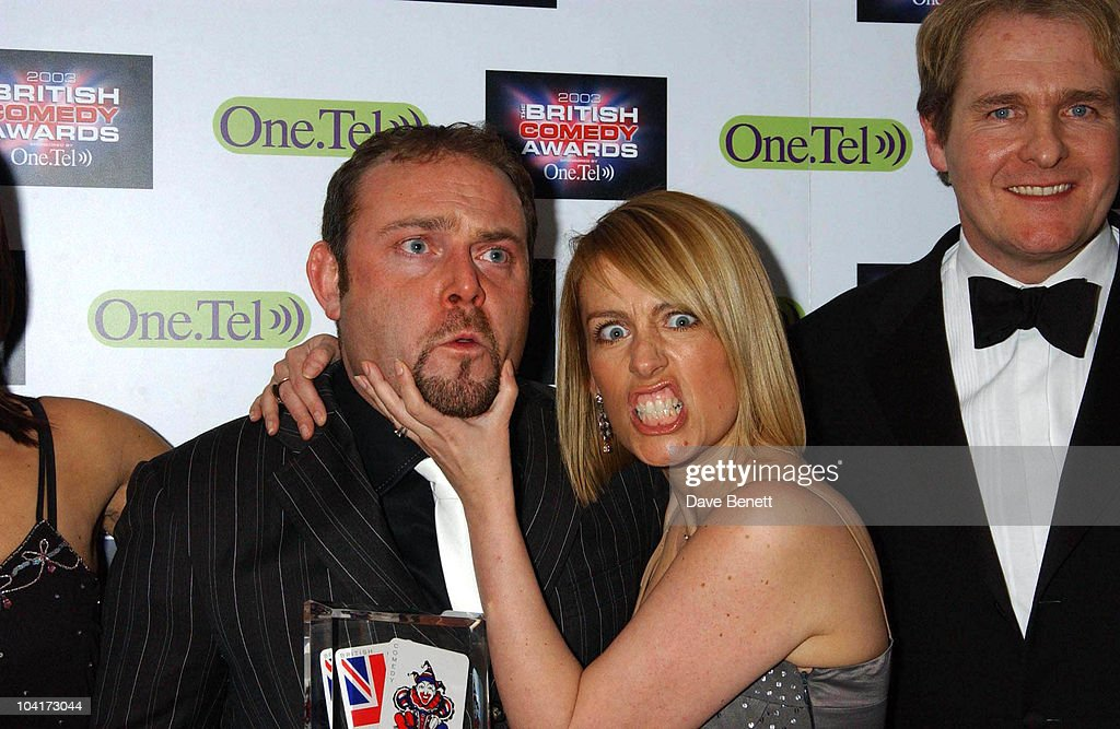 John Thomson, Fay Ripley And Robert Bathurst, British Comedy Awards At Lwt Studios In London