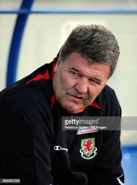 John Toshack Wales manager