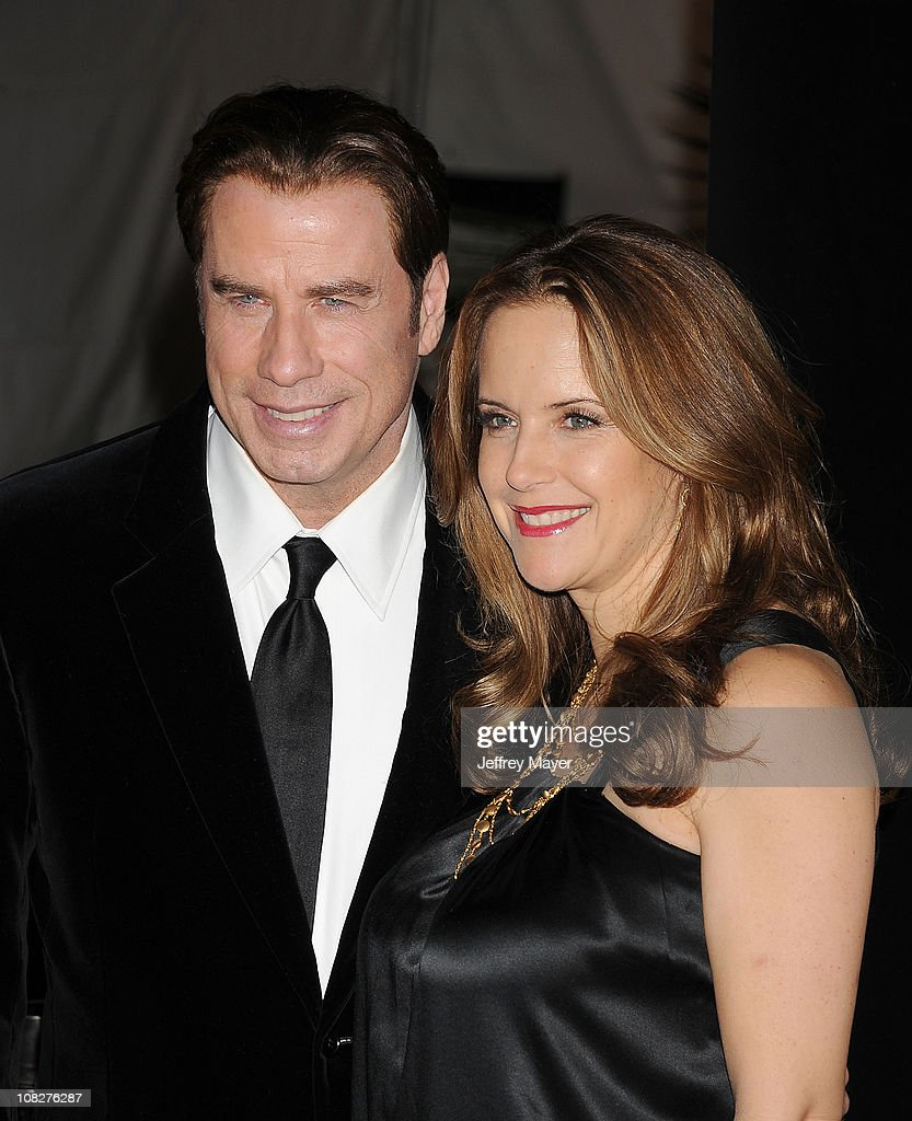 <a gi-track='captionPersonalityLinkClicked' href=/galleries/search?phrase=John+Travolta&family=editorial&specificpeople=178204 ng-click='$event.stopPropagation()'>John Travolta</a> and <a gi-track='captionPersonalityLinkClicked' href=/galleries/search?phrase=Kelly+Preston&family=editorial&specificpeople=159434 ng-click='$event.stopPropagation()'>Kelly Preston</a> arrive at the G'Day USA Australia Week 2011 Black Tie Gala at Hollywood Palladium on January 22, 2011 in Hollywood, California.