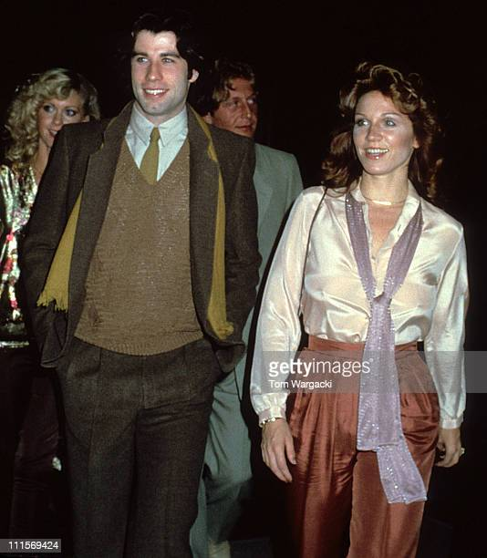 John Travolta and Marilu Henner during John Travolta_sighting in Manhattan September 16th 1978 in New York City United States