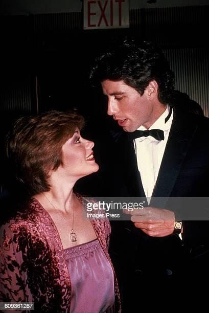John Travolta and Saturday Night Fever costar Donna Pescow circa 1982 in New York City