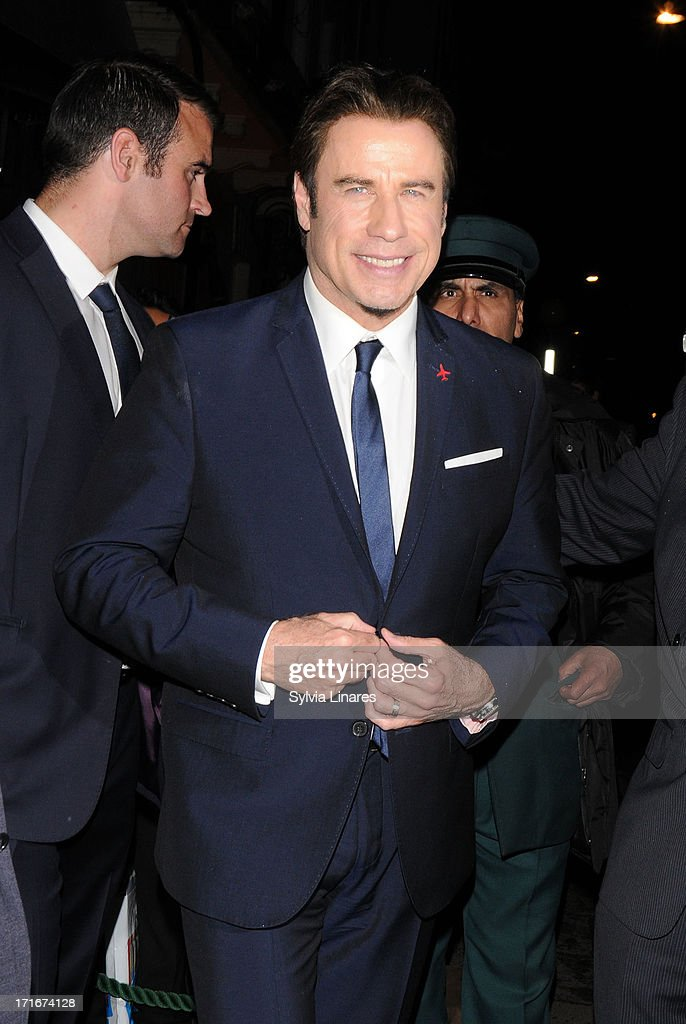 <a gi-track='captionPersonalityLinkClicked' href=/galleries/search?phrase=John+Travolta&family=editorial&specificpeople=178204 ng-click='$event.stopPropagation()'>John Travolta</a> at Annabel's Club on June 27, 2013 in London, England.