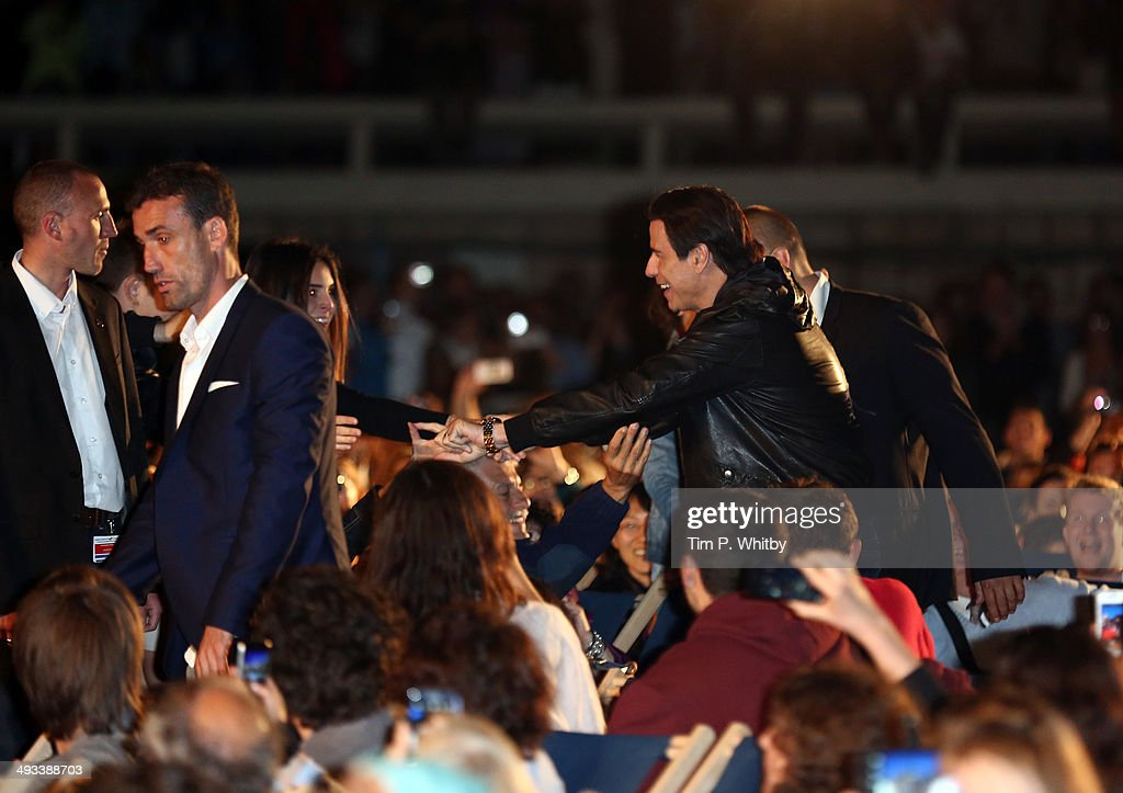 <a gi-track='captionPersonalityLinkClicked' href=/galleries/search?phrase=John+Travolta&family=editorial&specificpeople=178204 ng-click='$event.stopPropagation()'>John Travolta</a> attends a screening of Pulp Fiction at the 67th Annual Cannes Film Festival on May 23, 2014 in Cannes, France.