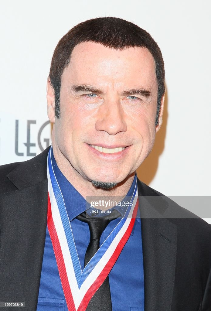 <a gi-track='captionPersonalityLinkClicked' href=/galleries/search?phrase=John+Travolta&family=editorial&specificpeople=178204 ng-click='$event.stopPropagation()'>John Travolta</a> attends the Living Legends Of Aviation Awards at The Beverly Hilton Hotel on January 18, 2013 in Beverly Hills, California.