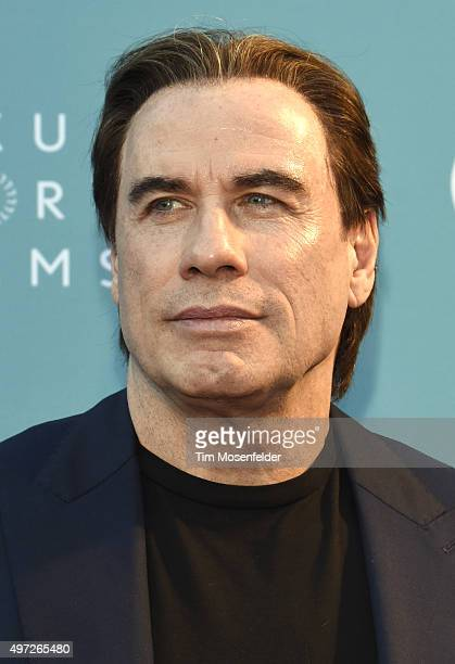 John Travolta attends the world premiere of 'Life on the Line' during the 2015 Napa Valley Film Festival on November 14 2015 in Napa California