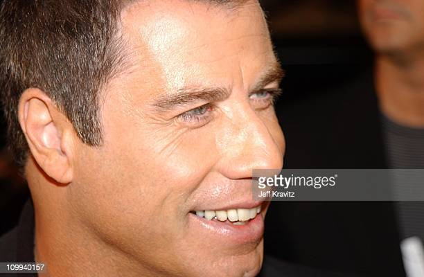 John Travolta during 2002 VH1 Vogue Fashion Awards Arrivals at Radio City Music Hall in New York City New York United States