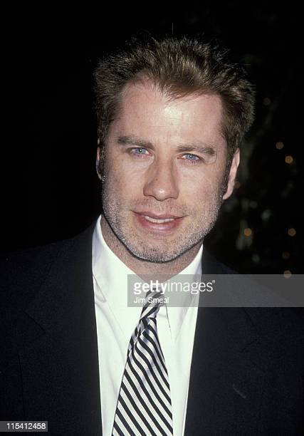 John Travolta during Hollywood Legacy Awards to Benefit the Entertainment Museum at Hollywood Palladium in Hollywood California United States