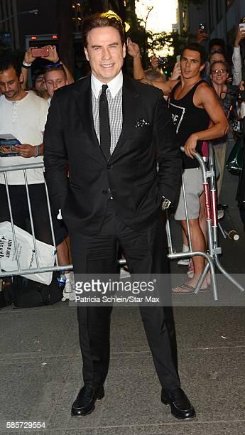 John Travolta is seen on August 3 2016 in New York City