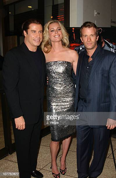 John Travolta Rebecca RomijnStamos and Thomas Jane