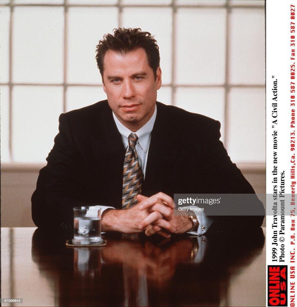 John Travolta Stars In The New Movie 'A Civil Action'