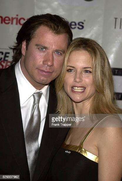 John Travolta with his wife Kelly Preston
