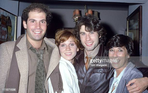 John Travolta with sister Helen Marilu Henner and Jerry Wurms