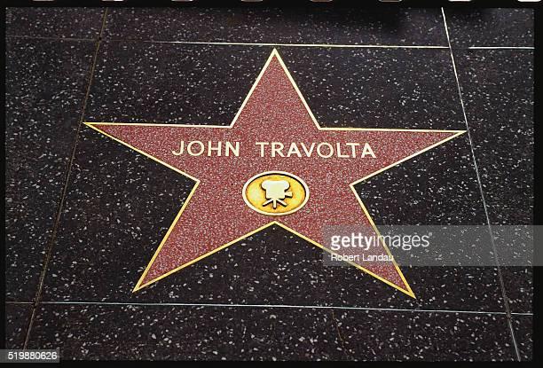 John Travolta's Star on Hollywood Boulevard