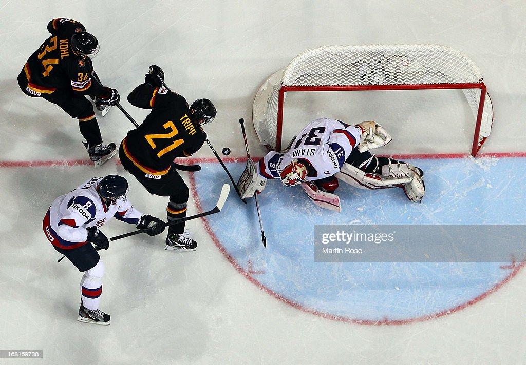 Germany v Slovakia - 2013 IIHF Ice Hockey World Championship