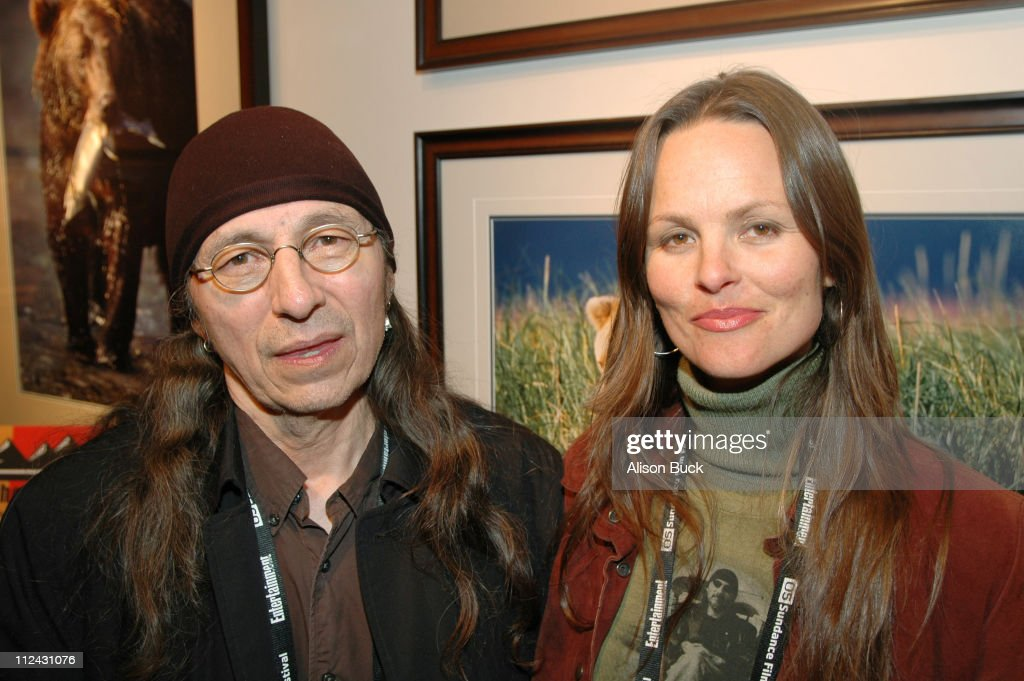 John Trudell and Heather Rae director of 'Trudell'