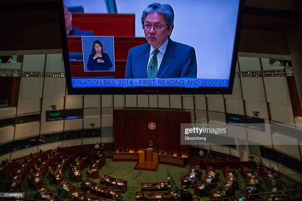 Financial Secretary John Tsang Delivers Budget Speech at Legislative Council