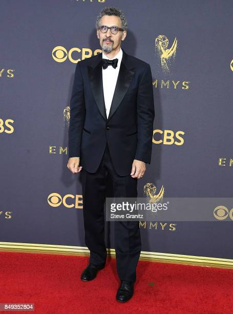 John Turturro arrives at the 69th Annual Primetime Emmy Awards at Microsoft Theater on September 17 2017 in Los Angeles California