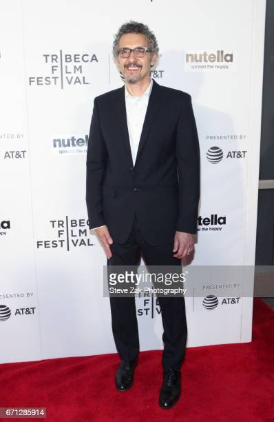 John Turturro from 'Hair' attends the Shorts Program New York Group Therapy during the 2017 Tribeca Film Festival at Regal Battery Park Cinemas on...