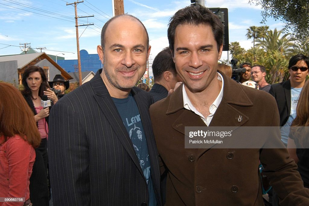 John Varvatos and Eric McCormack attend John Varvatos' 3rd Annual Stuart House Charity Benefit at John Varvatos Boutique on March 5 2005 in West...