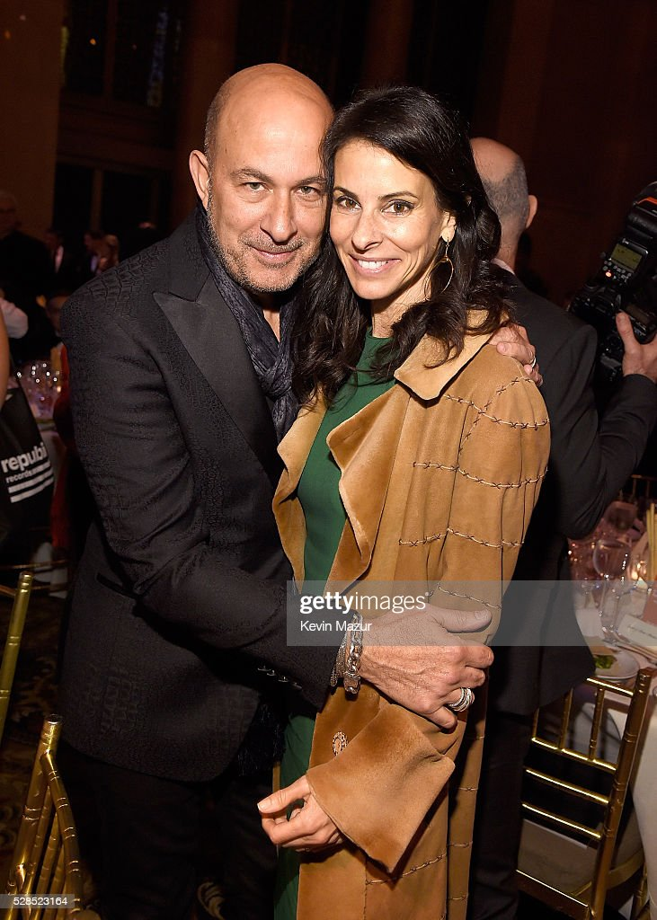 John Varvatos and <a gi-track='captionPersonalityLinkClicked' href=/galleries/search?phrase=Joyce+Varvatos&family=editorial&specificpeople=731977 ng-click='$event.stopPropagation()'>Joyce Varvatos</a> attend the 10th Annual Delete Blood Cancer DKMS Gala at Cipriani Wall Street on May 5, 2016 in New York City.