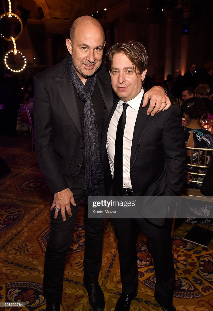John Varvatos and President, Republic Records Charlie Walk attend the 10th Annual Delete Blood Cancer DKMS Gala at Cipriani Wall Street on May 5, 2016 in New York City.