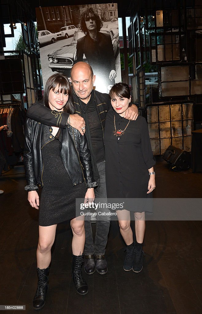 John Varvatos attends the Rock in Fashion Book Launch at John Varvatos South Beach Miami on October 19, 2013 in Miami, Florida.