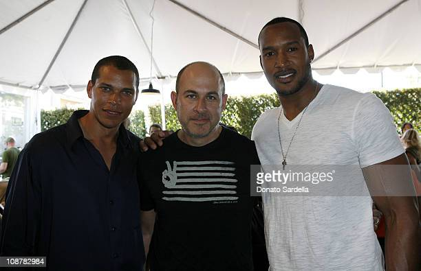 John Varvatos Henry Simmons and guest