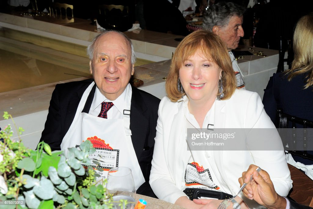 John Veronis And Ann Tisch Attend Through The Kitchen With The Cancer  Research Institute At The
