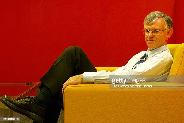 John Wadeson Centrelink chief information officer in Canberra 5 May 2004 SMH Picture by PENNY BRADFIELD