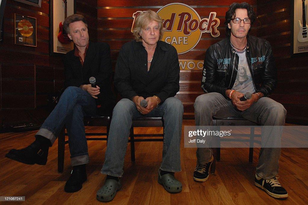 Rick Springfield,Eddie Money,John Waite ? Press Conference