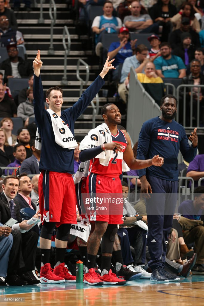 Washington Wizards v Charlotte Hornets