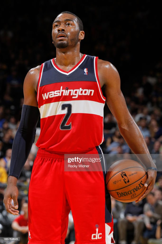 <a gi-track='captionPersonalityLinkClicked' href=/galleries/search?phrase=John+Wall&family=editorial&specificpeople=2265812 ng-click='$event.stopPropagation()'>John Wall</a> #2 of the Washington Wizards against the Golden State Warriors on March 23, 2013 at Oracle Arena in Oakland, California.