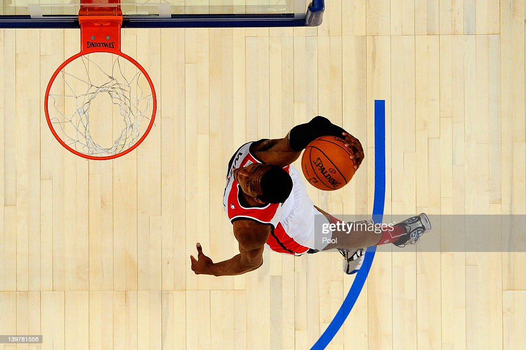 John Wall of the Washington Wizards and Team Chuck during the BBVA Rising Stars Challenge part of the 2012 NBA AllStar Weekend at Amway Center on...