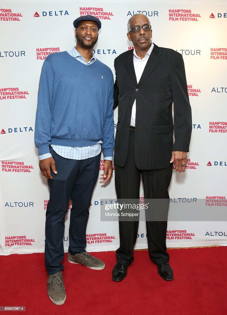 John Wallace and Kevin Lloyd attend the photo call at Bay Street Theater, 1 during Hamptons International Film Festival 2017 - Day Two on October 6, 2017 in Sag Harbor, New York.