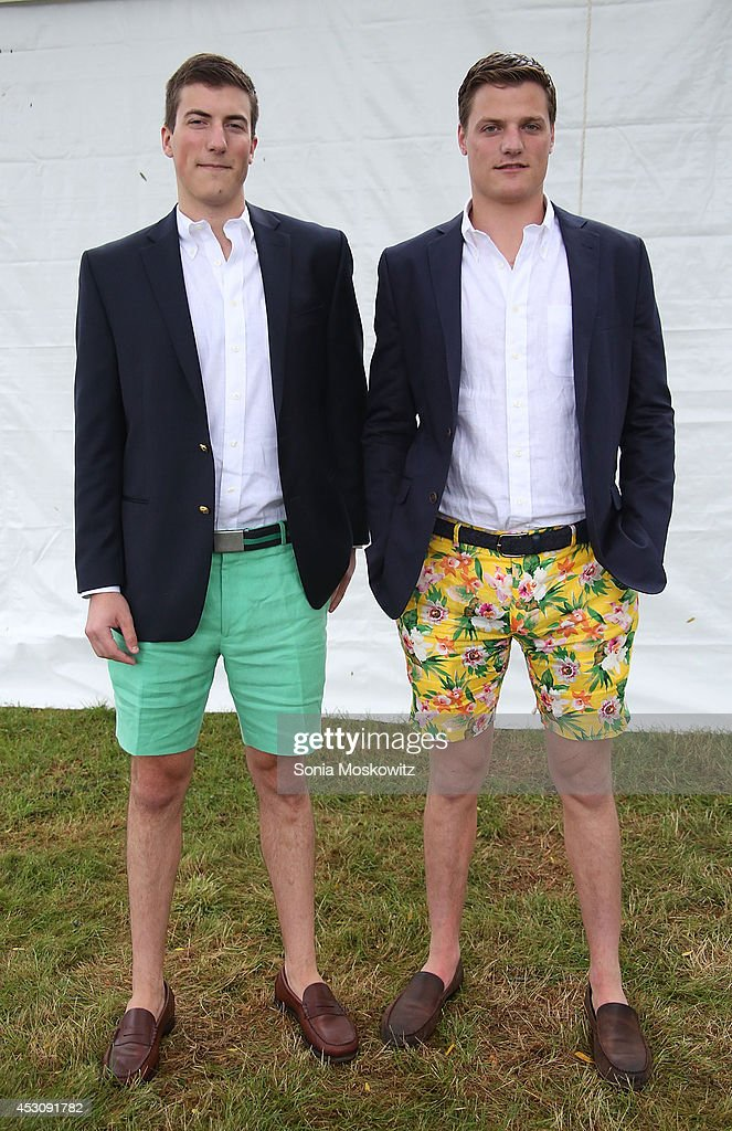 John Wambold and George Wambold attend the Southampton Hospital's 56th Annual 'Endless Summmer' party on August 2, 2014 in Southampton, New York.