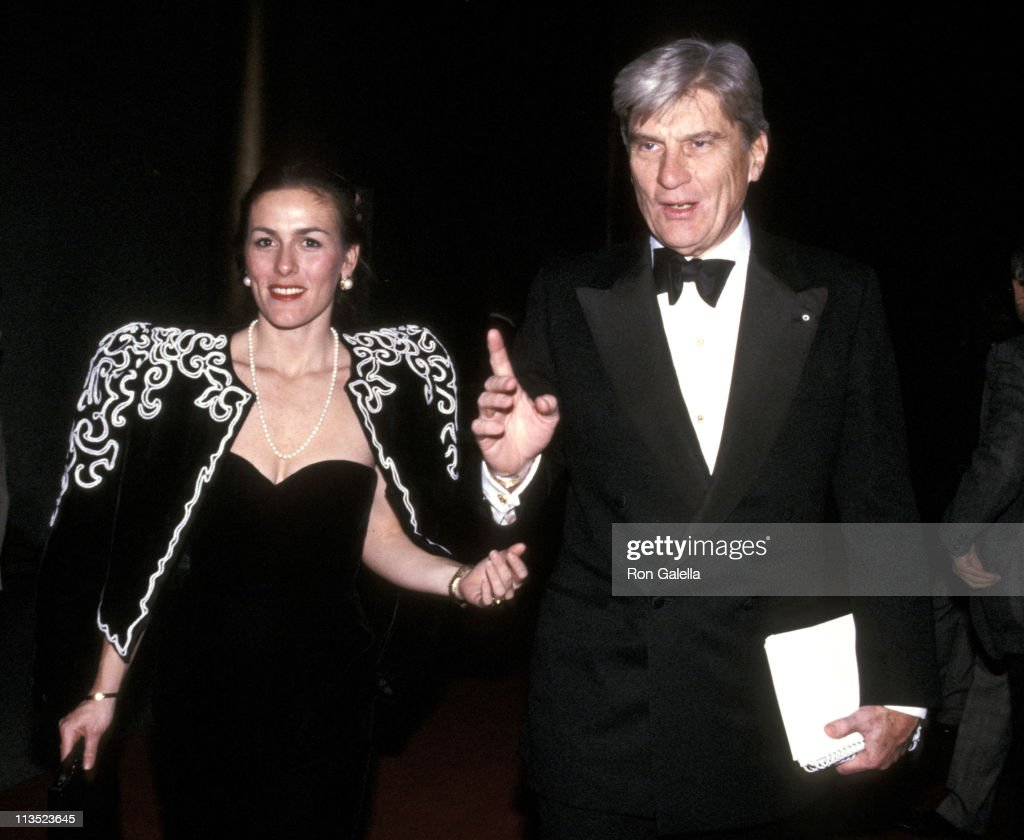 John Warner (right) and Guest during Kennedy Center Honors - December 3, 1988 at The Kennedy Center in Washington D.C., United States.
