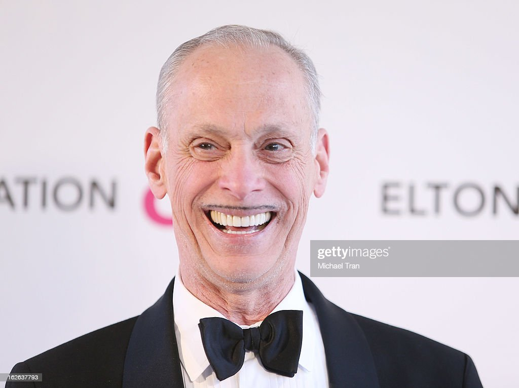 John Waters arrives at the 21st Annual Elton John AIDS Foundation Academy Awards viewing party held at West Hollywood Park on February 24, 2013 in West Hollywood, California.