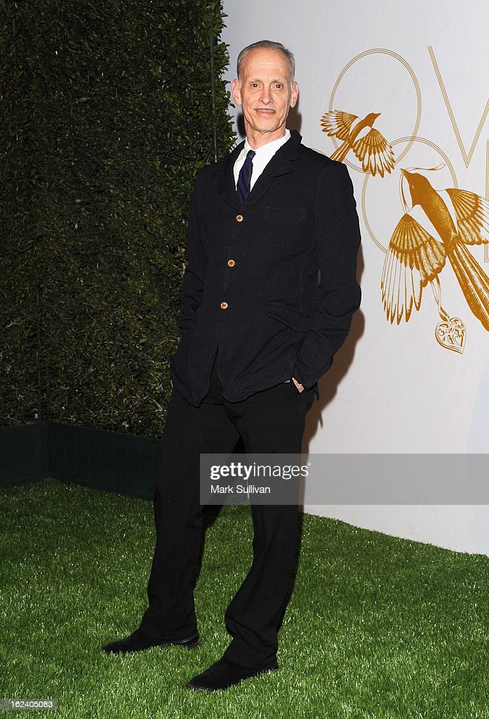 <a gi-track='captionPersonalityLinkClicked' href=/galleries/search?phrase=John+Waters+-+Director&family=editorial&specificpeople=209202 ng-click='$event.stopPropagation()'>John Waters</a> arrives at the LOVEGOLD cocktail party to celebrate 'How To Survive A Plague' at Chateau Marmont on February 22, 2013 in Los Angeles, California.