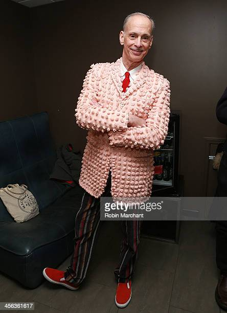 John Waters attends a John Waters Christmas 2013 at Stage 48 on December 13 2013 in New York City