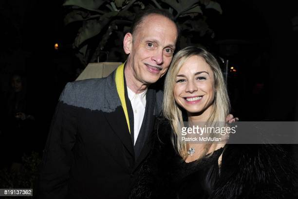John Waters Cecile Le Paire attend NICOLAS BERGGRUEN's 2010 Annual Party at the Chateau Marmont on March 3 2010 in West Hollywood California