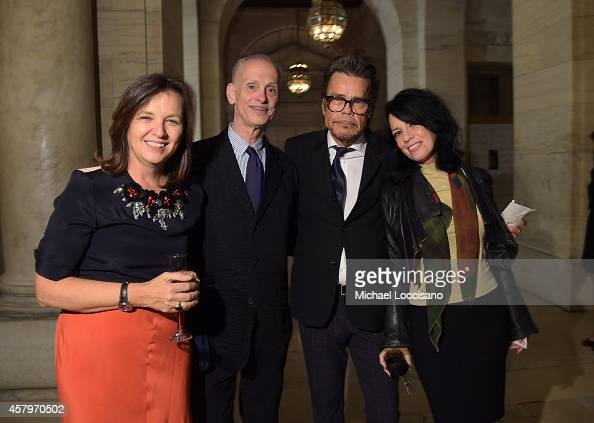 John Waters David Johansen Mara Hennessey and a guest at the Sixth Annual Norman Mailer Center and Writers Colony Benefit Gala Honoring Don DeLillo...