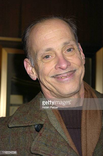 John Waters during 'Raging Bull' 25th Anniversary and Collector's Edition DVD Release Celebration at The Ziegfeld Theatre in New York New York United...