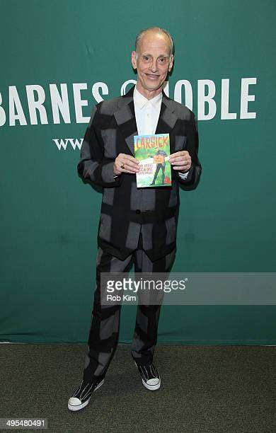 John Waters promotes his new book 'Carsick John Waters Hitchhikes Across America' at Barnes Noble Union Square on June 3 2014 in New York City