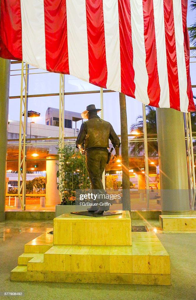 John Wayne Airport Orange County on July 18 2016 in Santa Ana California