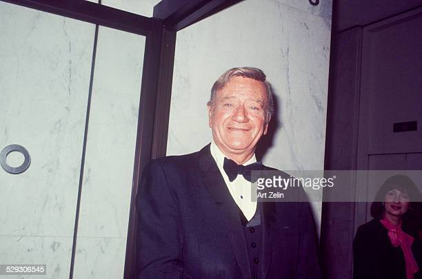 John Wayne in a tux circa 1970 New York