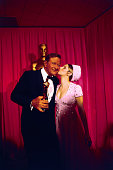 John Wayne received the 'Best Actor of 1969' Oscar for his role in 'True Grit' Presenting the award at the 42nd annual presentation of the Academy of...